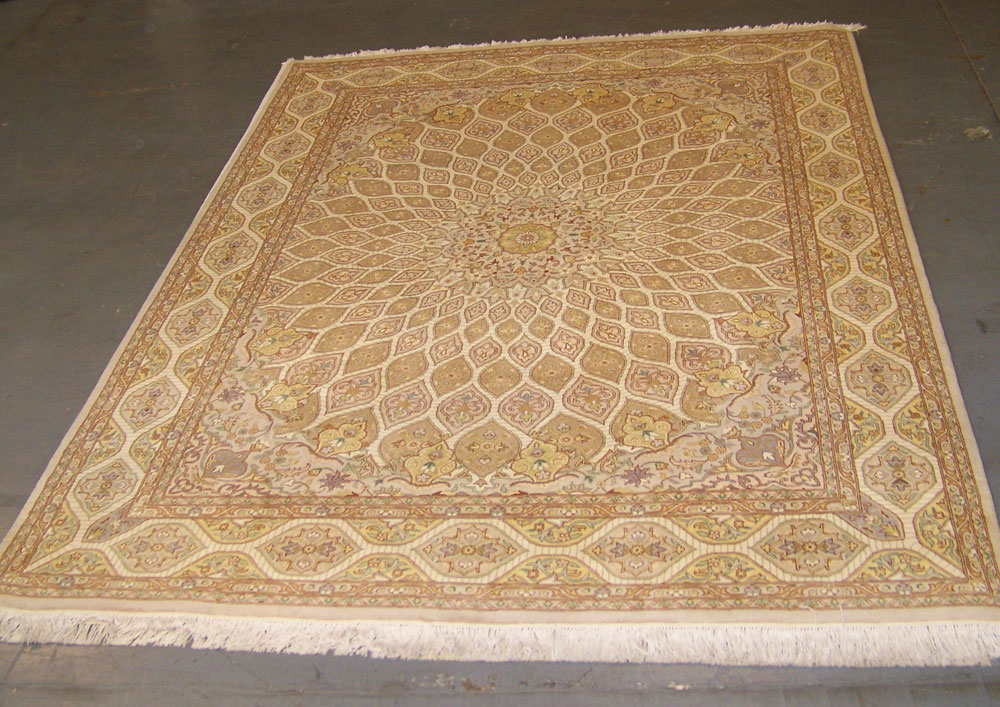8x10 classic persian qum rug milwaukee