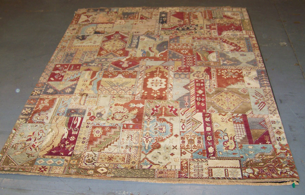 8x10 Classic Persian Patch Rug Milwaukee : Persian Rug Gallery