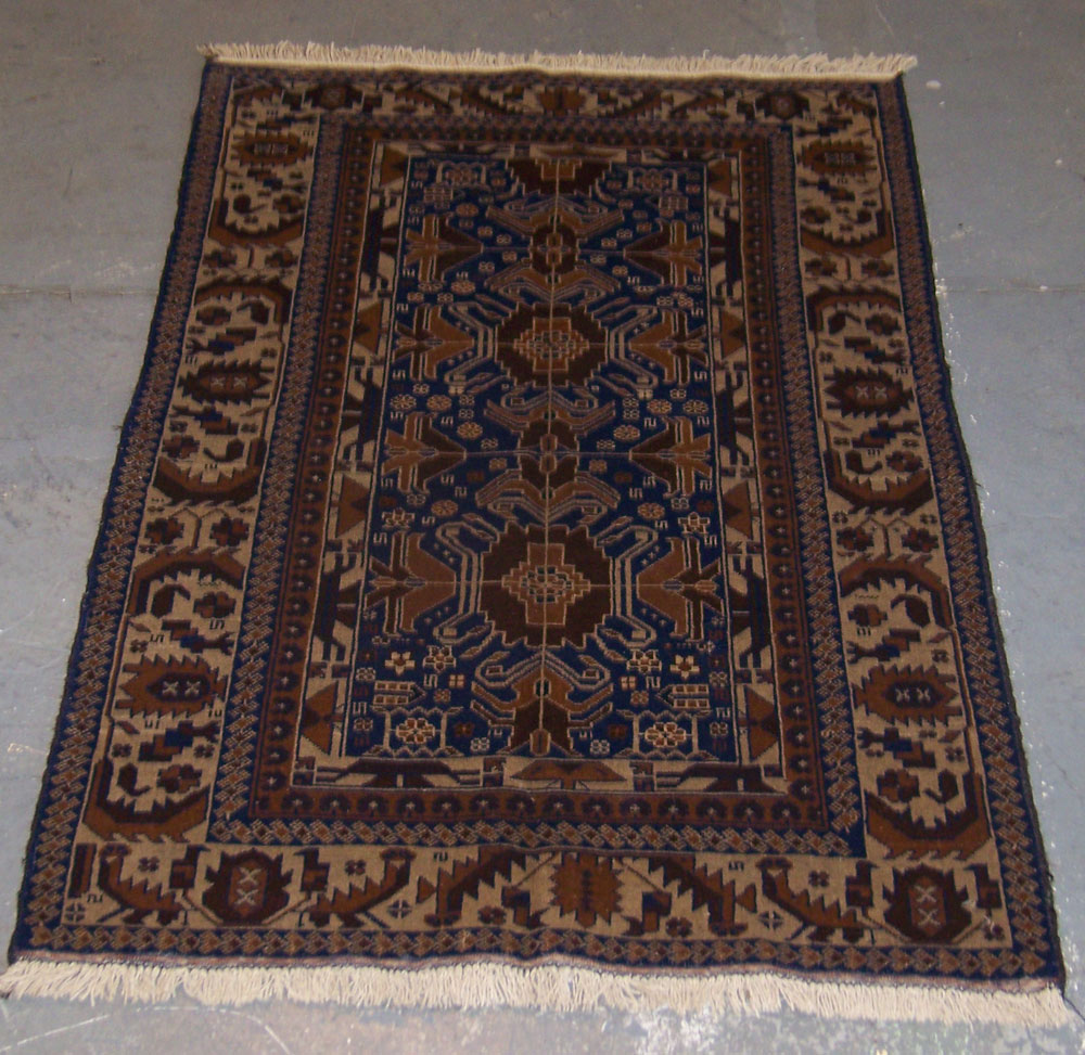 "Prayer Rug Types: 3'6""x6' Tribal Afghan Prayer Rug Milwaukee"